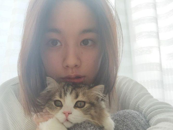 【エンタメ画像】《これはかわいい》筧美和子の愛猫「ぽんず」の可愛さが爆発!!!うるうる瞳にノックアウトってよ!!!!!!!!!!!!!!!!!!!!!