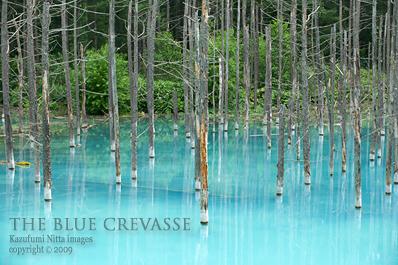 THE BLUE CREVASSE 04