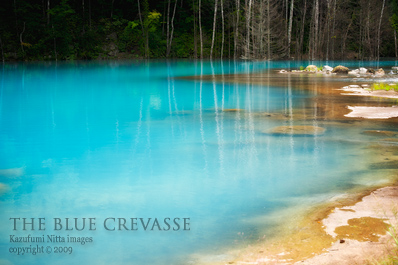 THE BLUE CREVASSE 01