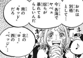 ワンピース 999話 ヤマト かわいい
