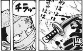 ワンピース979話 モモの助戦う
