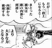 ワンピース 流桜 内部破壊