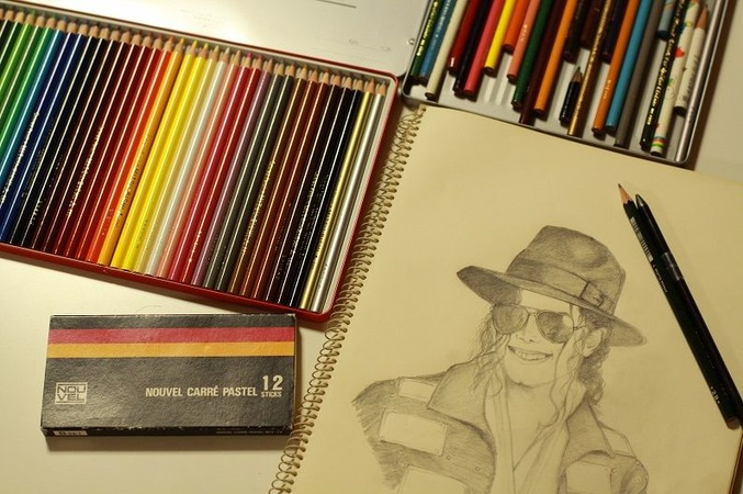 新しい色鉛筆♪