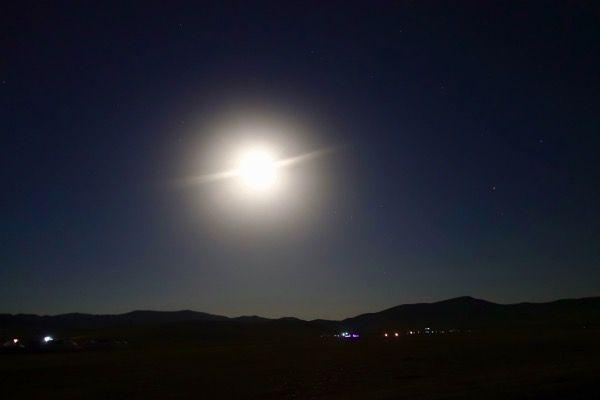 モンゴルの夜空