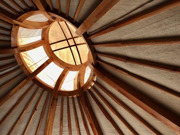 ゲルの屋根