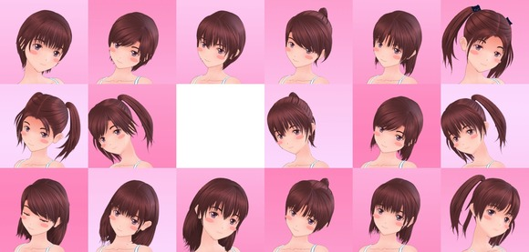 恋愛プラスH全髪型