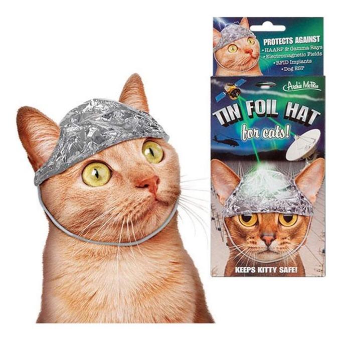 【超朗報】ネコ用アルミホイル、爆誕