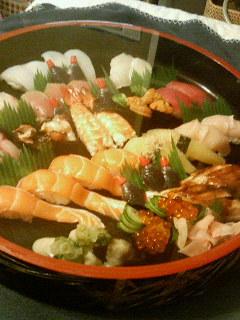 高級寿司頼んだwwwwwwwwww