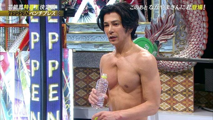 【画像】俳優、武田真治さんの筋肉がヤバすぎると話題に