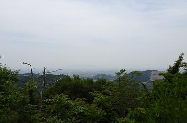 徳島市方面の眺め