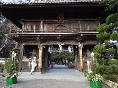 一番札所、霊山寺