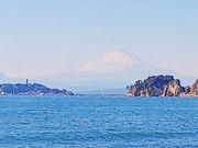 20171125小坪から富士山
