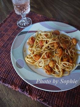 ラングスティーヌのスパゲティ