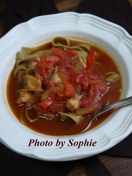 タリアテッレ・ターキースープ