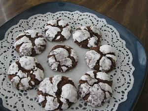 チョコレート・クリンクル・クッキー