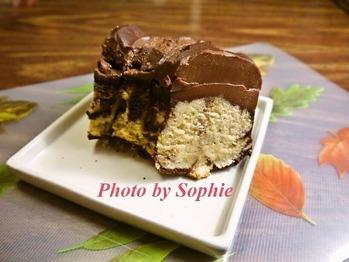 チョコレートフランケーキ