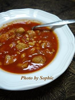 豚ヒレ肉と白豆のシチュー