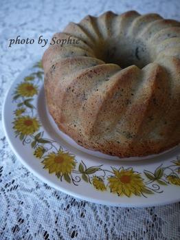 胡桃とプルーンのケーキ(ブランデー入)