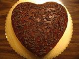ファッジフロスティングのチョコレートケーキ(チョコカール)