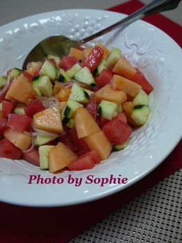 サマー・フルーツサラダ