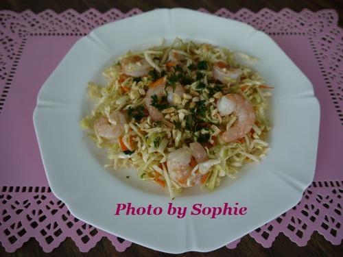 海老とキャベツのアジア風サラダ