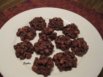 チョコレート・ピーナッツレーズン・キャンディークッキー