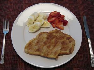 フレンチ・キャラメルトースト(皿)