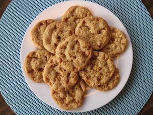 ピーナッツ・ブリトル・クッキー