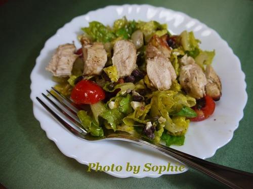チキンサラダ・ギリシャ風