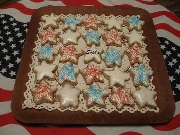 スイスのシナモンスタークッキー