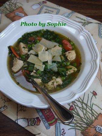 チキンのスプリングスープ