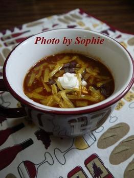 牛挽肉と白い豆のチリ