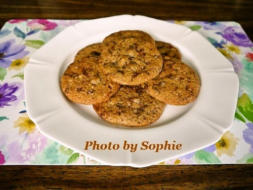 ミルクチョコレート・トフィービッツ・クッキー