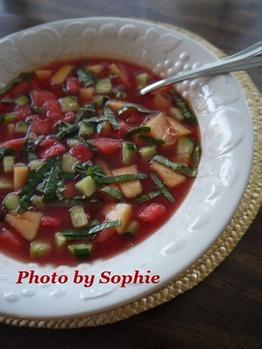 スイカのスープ