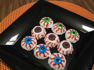 ハロウィン・アイボール・チョコレートクッキー