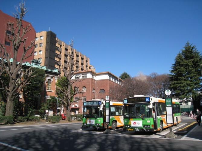 3_東大構内バス乗り場