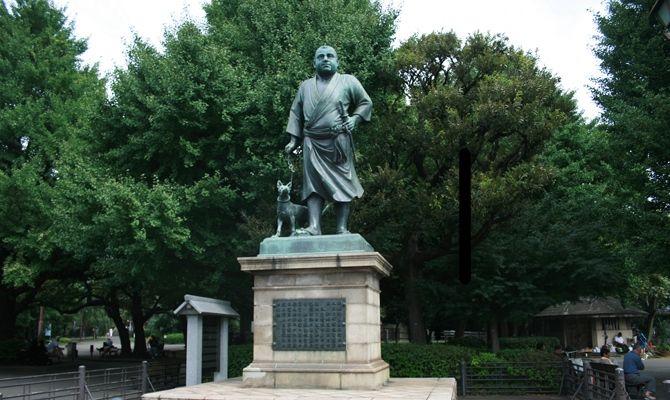 上野公園 西郷隆盛銅像