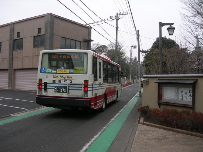 3_寺町通りを走るバス