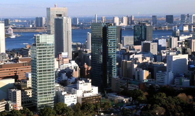 東京タワーから住友不動産芝公園タワー