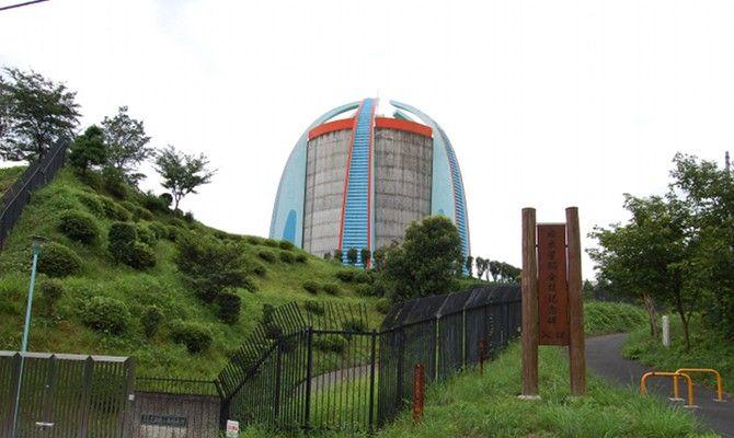 文化の森給水塔