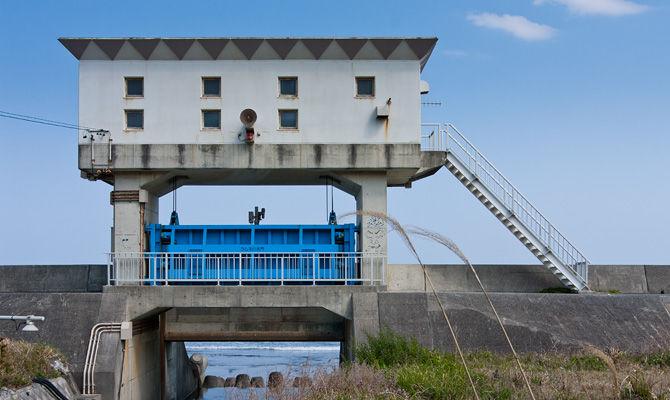 萩間川相良水門