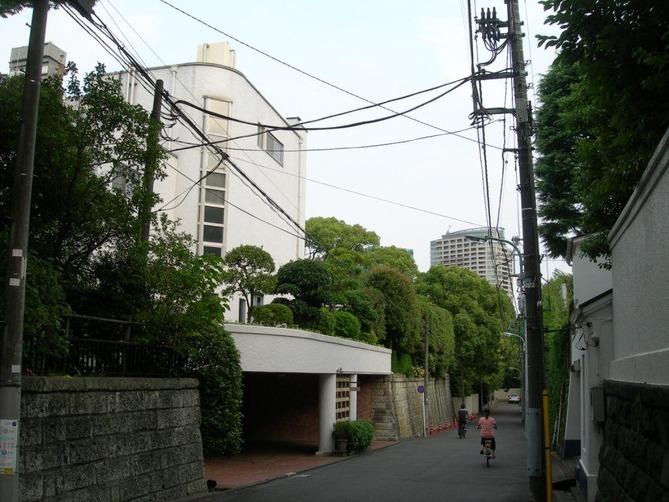 3_麻布台の高級住宅街