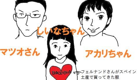 アカリちゃん家族