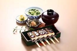 なめし田楽定食(5本)