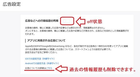 yahooグループ広告設定2