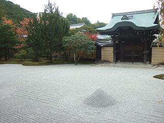 本堂からのお庭