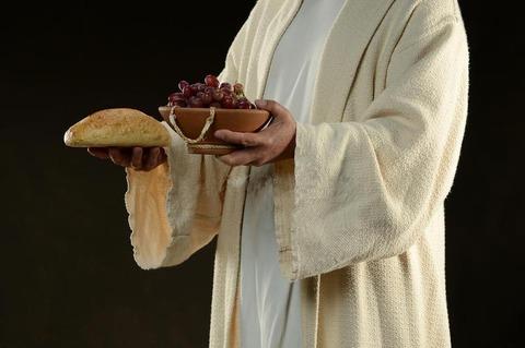 キリスト パンと葡萄1