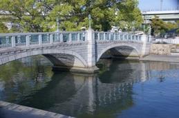 中之島の眼鏡橋