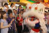 中国風獅子舞