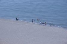 鳥取砂丘での海水浴 025